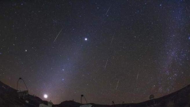 Lluvia de meteoros Gemínidas.