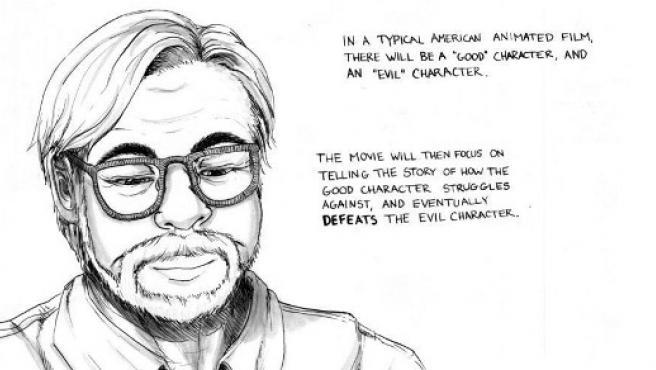 El manifiesto en cómic de Hayao Miyazaki