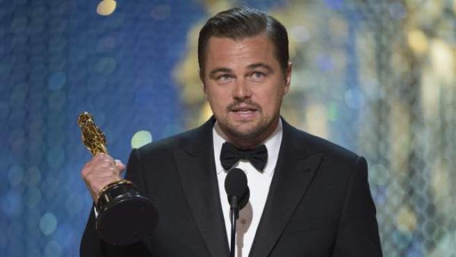 Leonardo DiCaprio, Óscar al mejor actor por 'El renacido'.