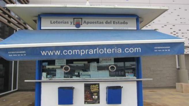 Administración de Loterías en Carrefour de Mérida