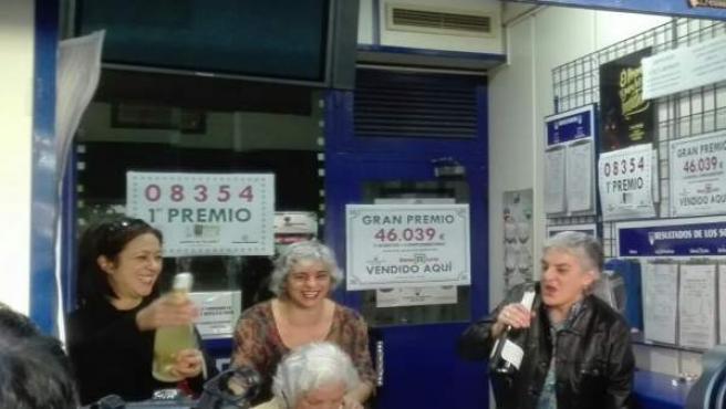 Loteras de Torrent celebran el 'Gordo' del Niño