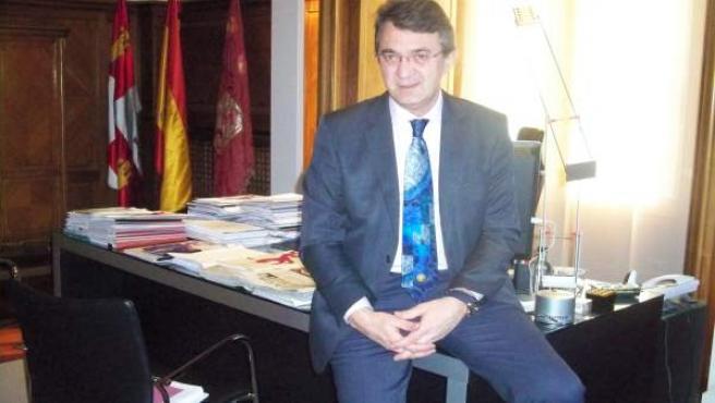 El presidente de la Diputación de León, Juan Martínez Majo.