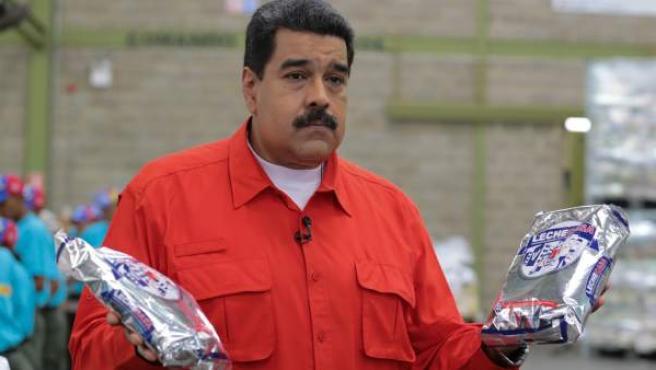 Nicolás Maduro anunció este domingo el aumento del salario mínimo en Venezuela.