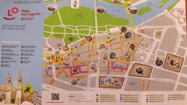 Logrono Llevara A Fitur El Primer Mapa Turistico Accesible De Espana