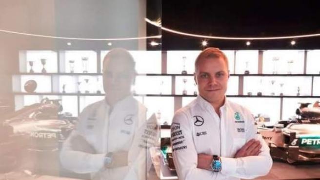 Valtteri Bottas, con la equipación de Mercedes.
