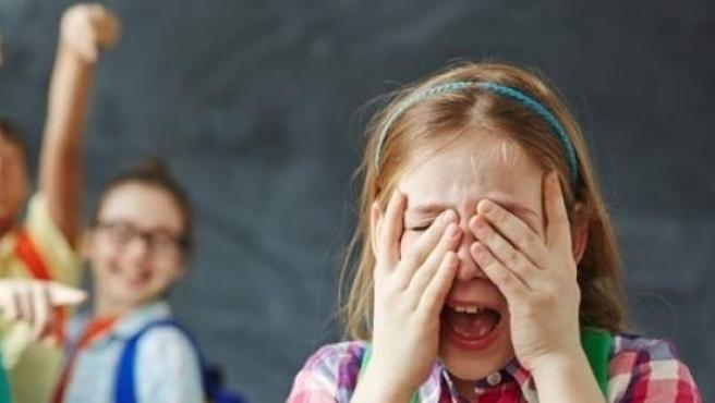 Imagen de recurso para concienciar contra el acoso escolar.