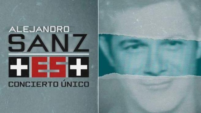Cartel promocional del concierto Más es Más.