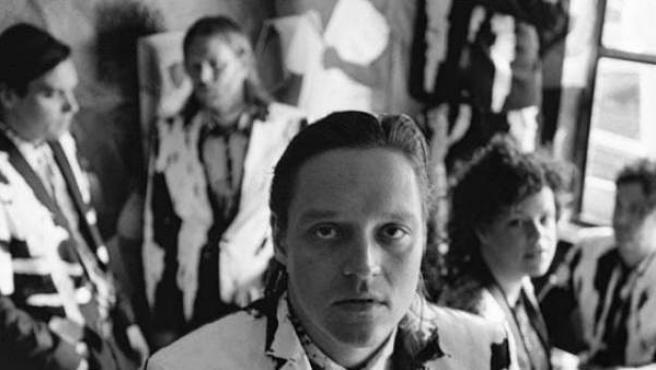 El grupo de indie rock Arcade Fire.