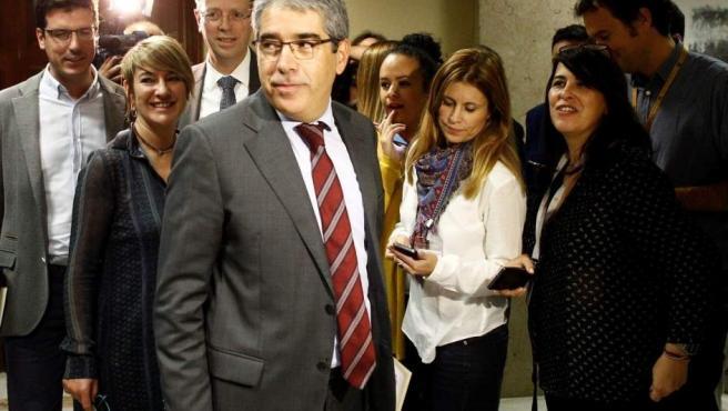 Francesc Homs, exconseller de Presidencia de la Generalitat y actual diputado de DiL en el Congreso.