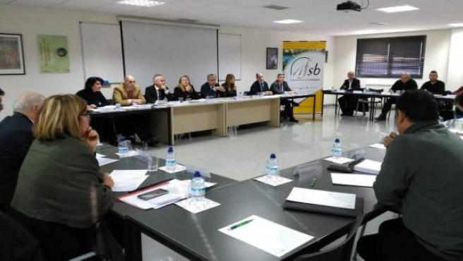 Del Olmo en la reunión del Comité de Seguimiento del Plan