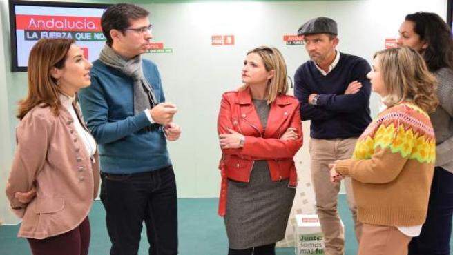 PSOE Tundidor Rubiño Fernández Doña