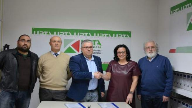 Acuerdo Entre El Ayuntamiento Y La Upta Para Impulsar A Los Autónomos