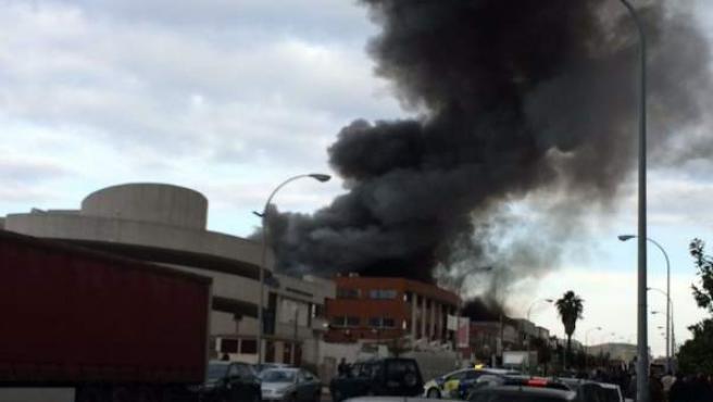 Incendio de Mairena.