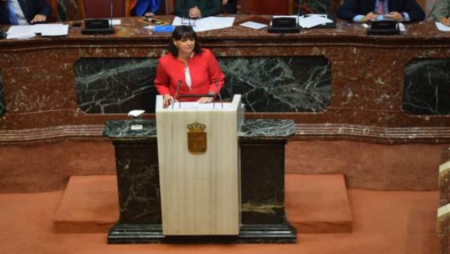 La viceportavoz del Grupo Parlamentario Popular, Isabel María Soler