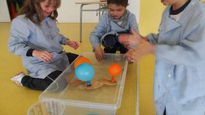 Niños participan en el programa de Endesa Educa