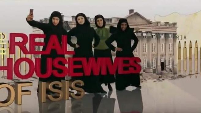 Cabecera del programa de humor de la BBC que ha parodiado a las 'novias de Estado Islámico'.