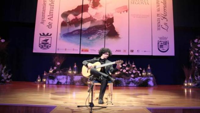 Actuación en el Certamen de Guitarra Andrés Segovia de La Herradura