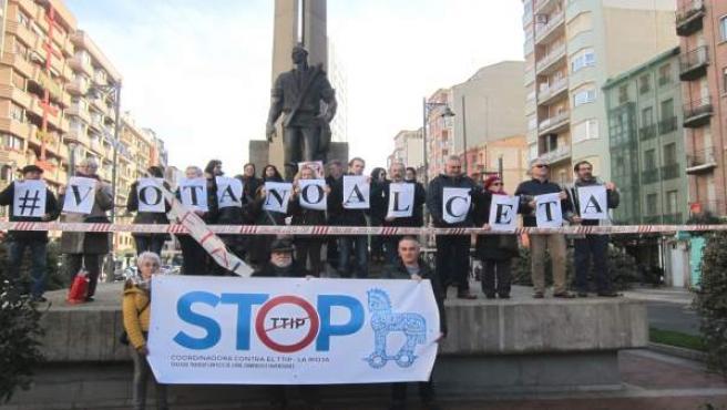 La plataforma contra el TTIP de La Rioja pide votar 'no' al CETA