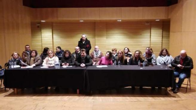 Asamblea de sindicatos del grupo Nuevo Pescanova