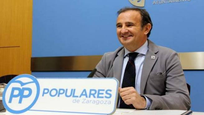 El concejal del PP en el Ayuntamiento de Zaragoza, Ángel Lorén
