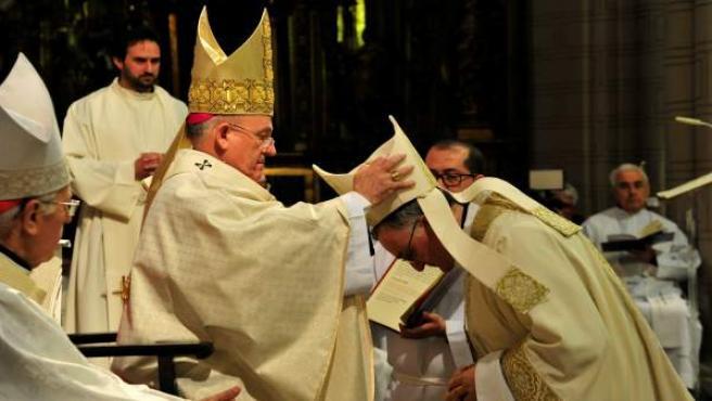 Antonio Gómez Cantero, ordenado este sábado obispo de Teruel y Albarracín