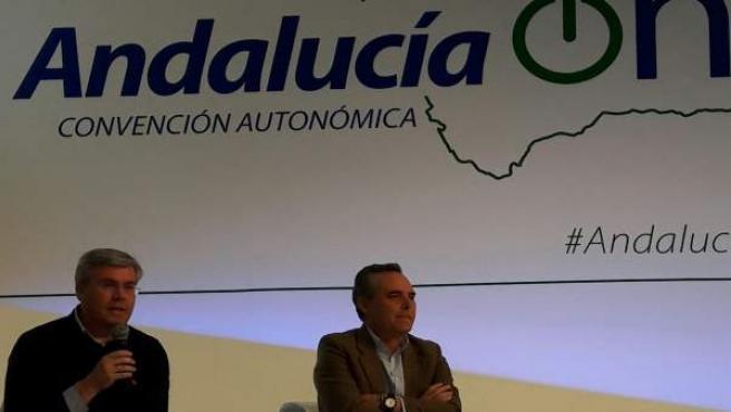 José Enrique Fernández de Moya, en la Convención del PP-A