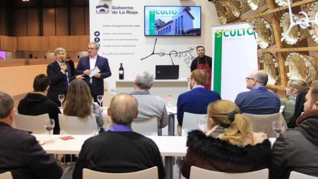 Estand de La Rioja en Fitur, actividades del sábado
