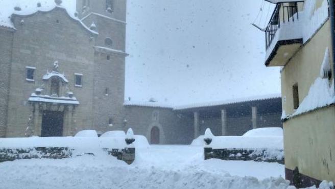 Nieve en Castellfort
