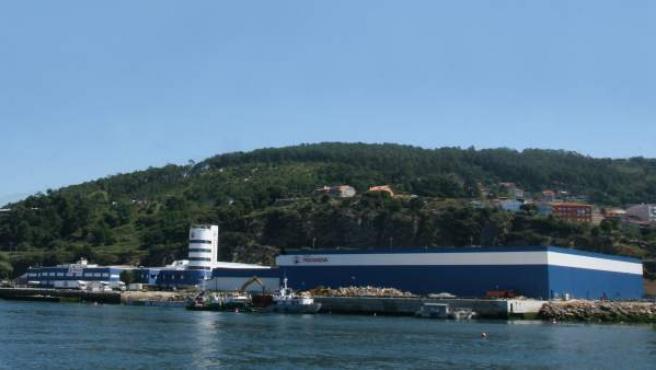 Factoría de Pescanova