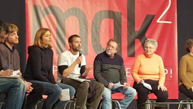 Ganemos Córdoba participa en el encuentro MakDos en Pamplona