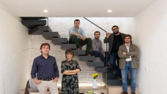Equipo de arquitectos del Grupo Arqes