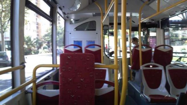 Interior Autobús Urbano Zaragoza