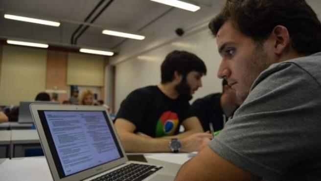 Ordenador GDG Google Málaga