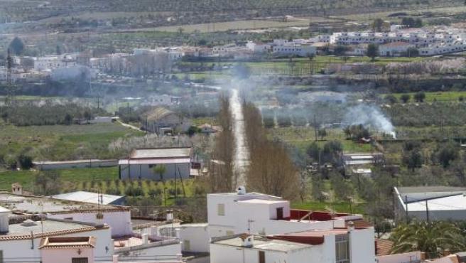 El camino entre Laujar y Fuente Victoria mejorará con estas inversiones.