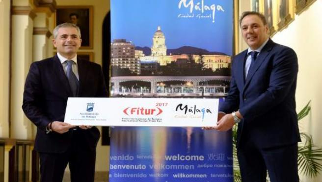 Andrade Fitur Ayuntamiento de Málaga Turismo de Málaga