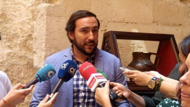 El concejal de C's en el Ayuntamiento de Sevilla Francisco Moraga