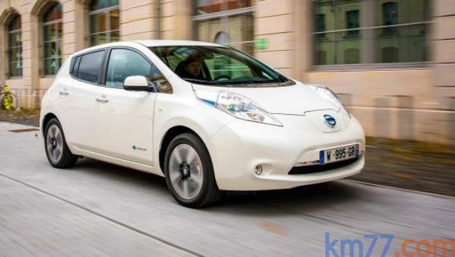 El LEAF, compacto eléctrico de Nissan, tiene una autonomía media de entre 199 y 250 kilómetros.