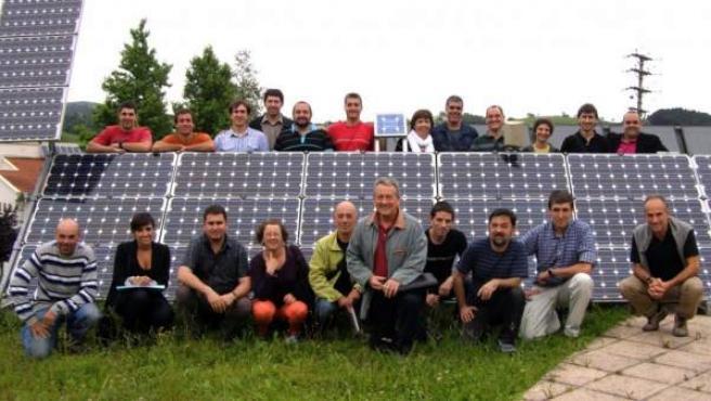 Socios de Goiener, cooperativa comercializadora de electricidad 100% renovable.