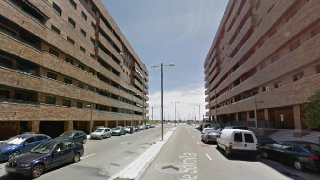 Calle Sorolla en Seseña, Toledo.