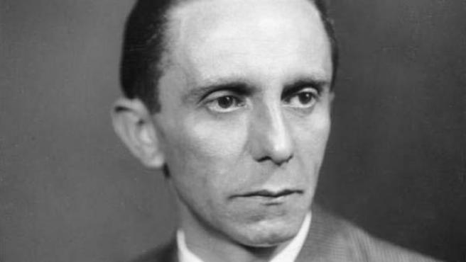Retrato del ministro de Propaganda nazi, Joseph Goebbels.