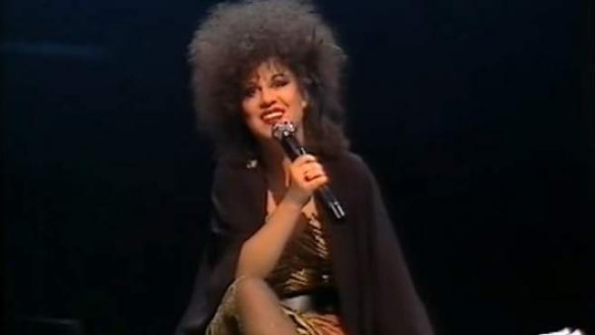 Paloma Chamorro en 'La Edad de Oro', en 1985.