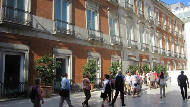 Exterior del Museo Thyssen-Bornemisza de Madrid