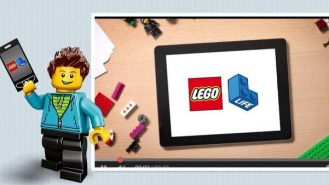 La app Lego Life está pensada para usuarios menores de 13 años.