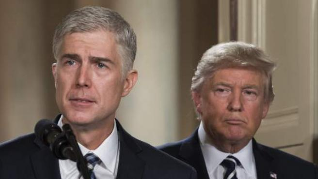 Neil Gorsuch, el juez de Trump para el Supremo.