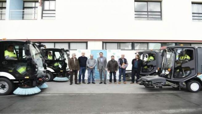 Torremolinos incorpora al servicio de limpieza viaria cuatro unidades