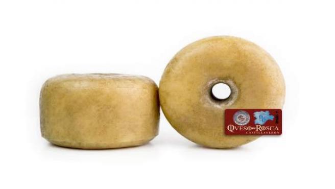 Imagen de dos quesos de rosca