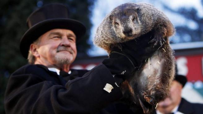 La marmota Phil, en EE UU.