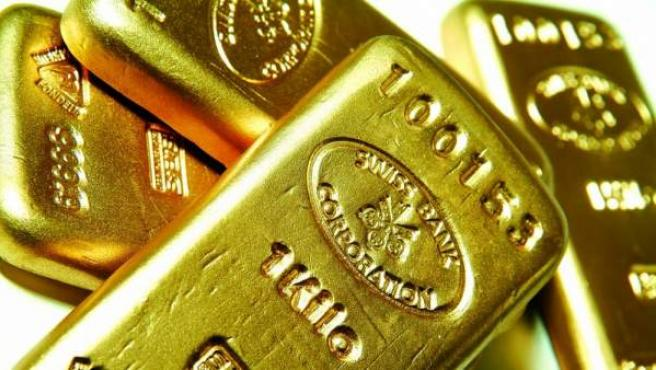 Varios lingotes de oro, en una imagen de archivo.
