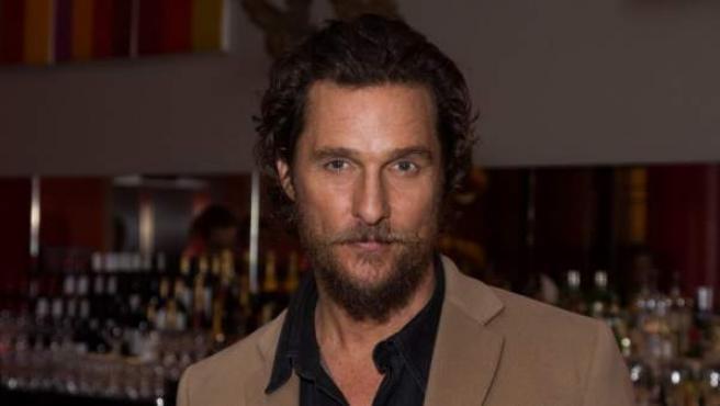 Matthew McConaughey, en el estreno de 'Gold' en Londres.
