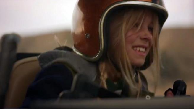 La niña que protagoniza el anuncio de Audi en pro de la igualdad de genero que se podrá ver durante la Super Bowl.
